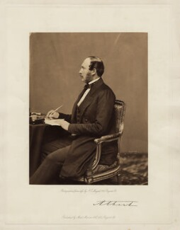 Prince Albert of Saxe-Coburg-Gotha, by John Jabez Edwin Mayall, published by  Messrs Marion - NPG x24127
