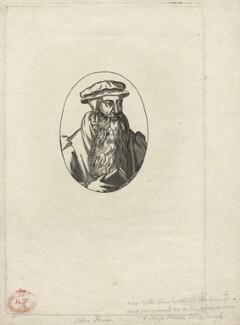 John Knox, after Adrian Vanson (van Son) - NPG D20938