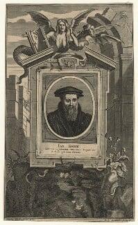 John Knox, by Gaspar Bouttats, after  Hendrik-Frans Verbruggen - NPG D20941