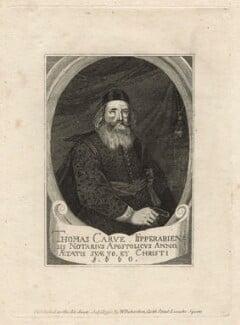 Thomas Carve (Carue, Carew), published by William Richardson, after  M. Vlizmayr - NPG D20946