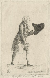 Lord John Cavendish, by James Sayers, published by  Charles Bretherton, published 3 July 1782 - NPG D20952 - © National Portrait Gallery, London