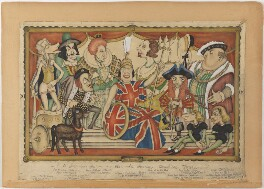 Suggestion for an All National History Charity Tableau, by Anthony Wysard - NPG D308