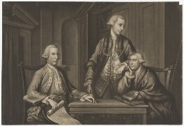 William Beckford; John Sawbridge; James Townsend, by Richard Houston - NPG D679