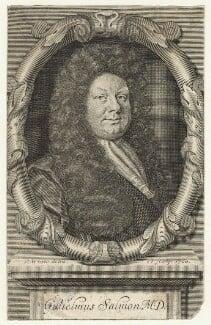 William Salmon, by Robert White - NPG D20972
