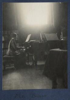 (Mary) Monica Bridges (née Waterhouse), by Lady Ottoline Morrell - NPG Ax141906