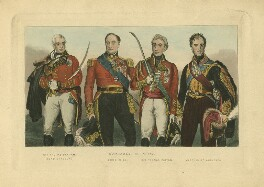 Comrades in Arms, by Unknown artist - NPG D8694