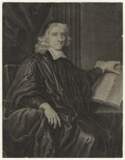 James Sharp, by George Vertue, after  Sir Peter Lely - NPG D20993