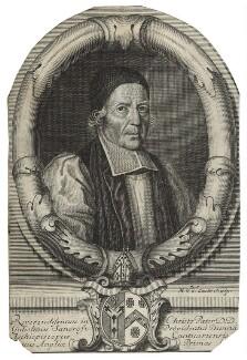 William Sancroft, by Michael Vandergucht, after  Edward Lutterell (Luttrell) - NPG D20997
