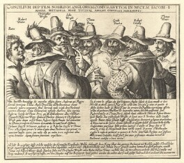 The Gunpowder Plot Conspirators, 1605, by Unknown artist, (circa 1605) - NPG D2334 - © National Portrait Gallery, London