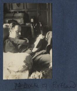 'Sonny' (William Cavendish-Bentinck, 7th Duke of Portland), by Lady Ottoline Morrell - NPG Ax141961