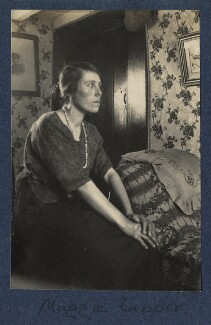Maggie Tinder, by Lady Ottoline Morrell - NPG Ax141984