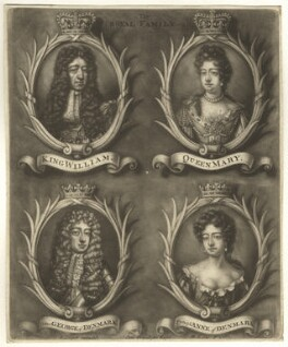 The Royal Family, by Bernard Lens (II), 1689-1702 - NPG D7754 - © National Portrait Gallery, London