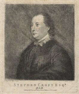Stephen Croft, by C. Carter, after  Sir Joshua Reynolds - NPG D21085
