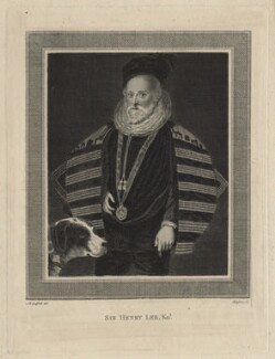 Sir Henry Lee, by James Basire, after  Moses Griffith - NPG D21016