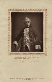 David James as Simon Ingot in 'David Garrick', by Herbert Rose Barraud, published by  Carson & Comerford - NPG x18728