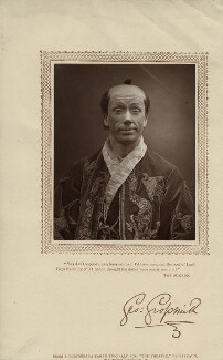 George Grossmith as Ko-Ko in 'The Mikado', probably by Herbert Rose Barraud, published by  David Bogue - NPG x16919