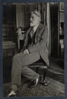 'The Poet Laureate' (Robert Bridges), by Lady Ottoline Morrell - NPG Ax142022