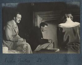 L.P. Hartley; Bob Gathorne-Hardy; Julian Vinogradoff (née Morrell), by Lady Ottoline Morrell - NPG Ax142026