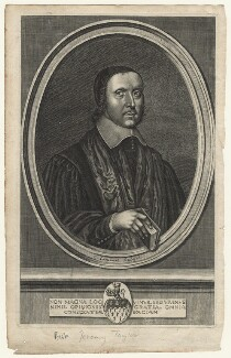 Jeremy Taylor, by Pierre Lombart, after  Unknown artist - NPG D21032