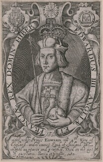 King Edward IV, by Renold or Reginold Elstrack (Elstracke), after  Unknown artist - NPG D21040
