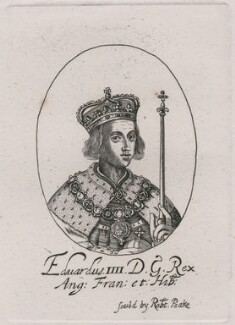 King Edward IV, published by Sir Robert Peake, probably after  William Faithorne - NPG D21044