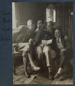 Igor Vinogradoff; Bob Gathorne-Hardy; Kyrle Leng; L.P. Hartley, by Lady Ottoline Morrell - NPG Ax142030