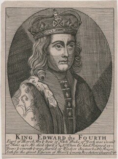King Edward IV, after Unknown artist - NPG D21042