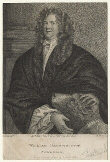 William Cartwright, by R. Clamp, published by  E. & S. Harding, after  Silvester (Sylvester) Harding, possibly after  John Greenhill - NPG D21050