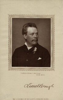 Lionel Brough, by St James's Photographic Co - NPG x4705