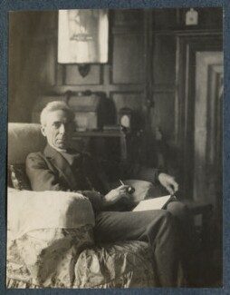 Bertrand Russell, by Lady Ottoline Morrell - NPG Ax142040