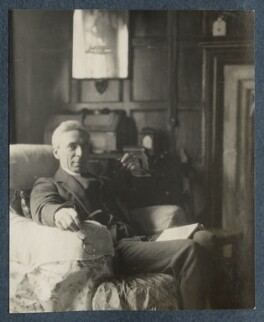 Bertrand Russell, by Lady Ottoline Morrell - NPG Ax142042