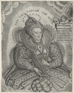 Queen Elizabeth I, by Francis Delaram, after  Nicholas Hilliard - NPG D21054