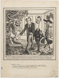 'The Tatler' introducing the Member for Brighthelmstone, Mr Wm. Teeling, introducing Sir Shane Leslie introducing Mrs Fitzherbert introducing The Prince Regent who requires no introduction., by Anthony Wysard - NPG D310