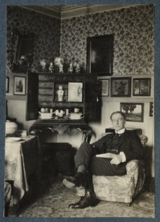 Philip Edward Morrell, by Lady Ottoline Morrell - NPG Ax142046