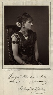 Helena Modjeska-Chlapowska as Adrienne in 'Adrienne Lecouvreur', by Unknown photographer - NPG x21364