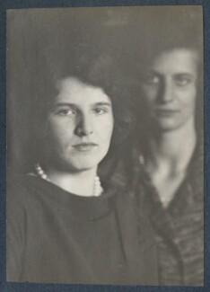 Julian Vinogradoff (née Morrell); Phyllis (née Spender-Clay), Lady Nichols, by Lady Ottoline Morrell - NPG Ax142077