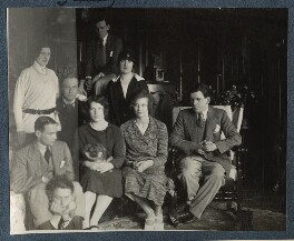 'Society at Garsington', possibly by Lady Ottoline Morrell - NPG Ax142081