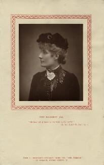 Harriett Jay, by Herbert Rose Barraud, published by  Strand Publishing Company - NPG x18848