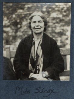Lucy Mary Silcox, by Lady Ottoline Morrell - NPG Ax142082