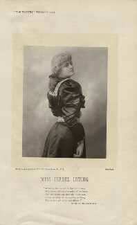 Isabel Irving (Mrs W.H. Thompson), by Alfred Ellis - NPG x18699