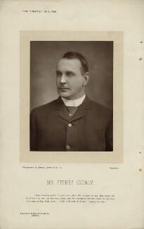 Sydney Grundy, by Herbert Rose Barraud, published by  Eglington & Co - NPG x16938