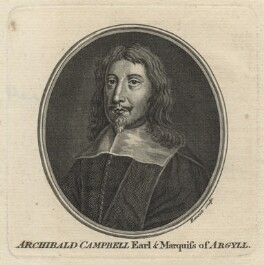 Archibald Campbell, 1st Marquess of Argyll, by Guillaume Philippe Benoist, after  Unknown artist - NPG D21071