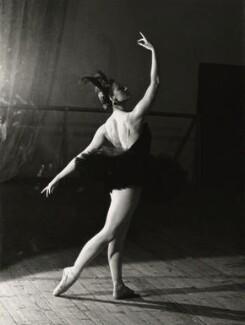Maya Plisetskaya as Odile in 'Swan Lake', by Ida Kar, circa 1960 - NPG x127352 - © National Portrait Gallery, London