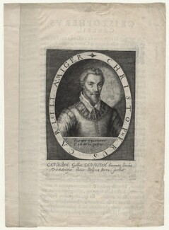 Christopher Carleill, by Magdalena de Passe, by  Willem de Passe - NPG D21074