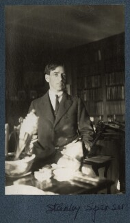 Sir Stanley Spencer, by Lady Ottoline Morrell - NPG Ax142102