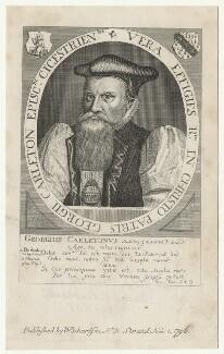 George Carleton, after Friedrich van Hulsen, after  Unknown artist - NPG D21080