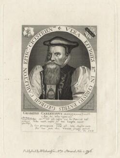 George Carleton, after Friedrich van Hulsen, after  Unknown artist - NPG D21081