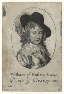 William II of Orange-Nassau, by William Marshall - NPG D21100