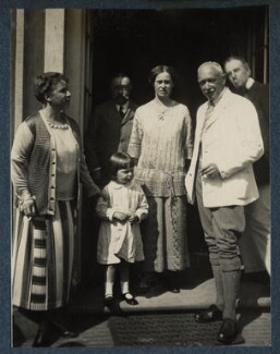Wilhelm-Viktor von Ilsemann; Philip Edward Morrell and others, by Lady Ottoline Morrell - NPG Ax142143