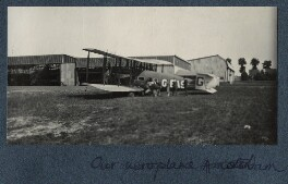 'Our aeroplane', possibly by Lady Ottoline Morrell - NPG Ax142184